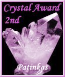Patinkas Crystal Award 2nd