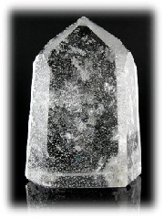 Crystal Points - Polished Quartz: White Head Quartz