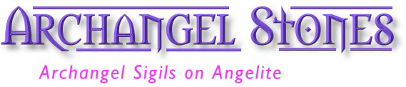 Archangel Stones: Archangel Sigils on Angelite