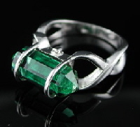 Gemstone rings in 925 sterling silver