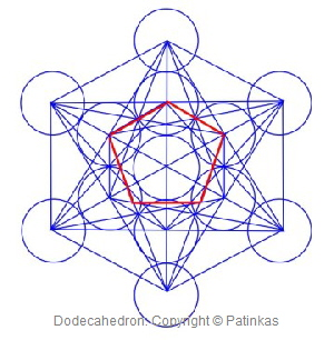 Metatron Dodecahedron