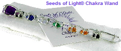 Seeds of Light � Chakra Wand