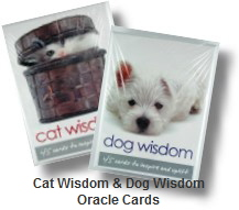Cat Wisdom & Dog Wisdom oracle cards